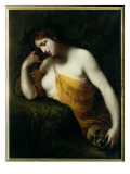 The Penitent Magdalen Reproduction proc&#233;d&#233; gicl&#233;e par Francesco Furini