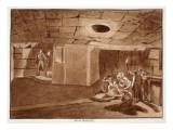 Mamertine Prison, 1833 Giclee Print by Agostino Tofanelli