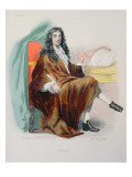 Jean-Baptiste Lully Reproduction procédé giclée par Tony Johannot