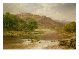 The River Llugwy, Bettws-Y-Coed Giclee Print by Benjamin William Leader