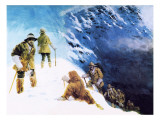 The First Hero of Everest Giclee Print by Graham Coton