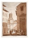 Torre Delle Milizie, 1833 Giclee Print by Agostino Tofanelli