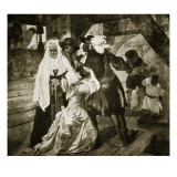 The Arrest of Alice Lisle Giclee Print by Edgar Melville Ward