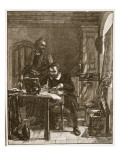 Tyndale Translating the Bible Giclee Print by Alexander Johnston