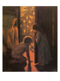 The Christmas Tree, C.1916 Giclee Print by  Mosler