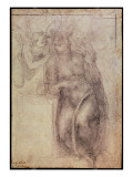 Inv.1895-9-15-516.Recto Premium Giclee Print by  Michelangelo Buonarroti
