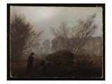 A Walk in the Mountains Giclee Print by Caspar David Friedrich