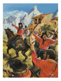 Guiseppe Garibaldi Giclee Print by Andrew Howat