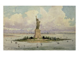 The Statue of Liberty Giclee Print by Frederic Auguste Bartholdi