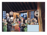 The Pilgrim Fathers, 1962 Giclee Print by Ron Embleton