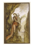 Sappho on the Cliff Giclee Print by  Moreau