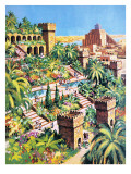The Hanging Gardens of Babylon Giclee Print by  Green
