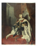 King Frederick I of Prussia Giclee Print by  Pesne