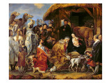 The Adoration of the Magi Giclee Print by Jacob Jordaens