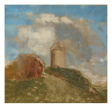The Windmill, C.1880 Giclee Print by Odilon Redon