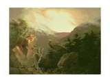 Mountain Sunrise, 1826 Giclee Print by Thomas Cole