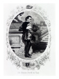Mr. Edwin Booth as Iago Giclee Print by  English School