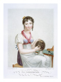 The Hairdresser, C.1816 Giclee Print by Madame G. Busset-Dubruste