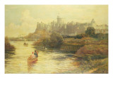 Boating by Windsor Castle, 1885 Giclee Print by John Emmanuel Jacobs