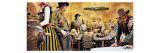 Wild West Saloon Giclee Print by Don Lawrence