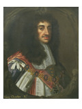 Portrait of King Charles Ii Premium Giclee Print by Sir Peter Lely