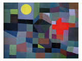 Fire, Full Moon, 1933 Gicl&#233;e-Druck von Paul Klee