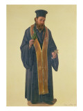 A Greek Priest, 1844 Giclee Print by Joseph Scherer