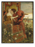 Romeo and Juliet, 1868-71 Giclee Print by Ford Madox Brown