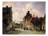 Pearn Street, Amsterdam Giclee Print by Adrianus Eversen