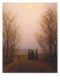 Caspar David Friedrich - Easter Morning, 1833 - Giclee Baskı