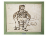 The Zouave, Seated, 1888 Gicle-tryk af Vincent van Gogh