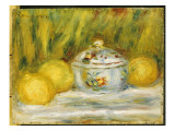 Sugar Bowl and Lemons, 1915 Giclee Print by Pierre-Auguste Renoir