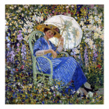 In the Garden, C.1910-11 Giclee Print by Frederick Carl Frieseke