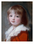 Portrait of a Boy Giclee Print by  Romney