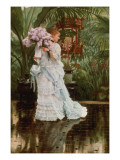 The Bunch of Lilacs, C.1875 Giclee Print by James Jacques Joseph Tissot
