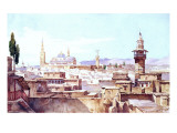 A View of Damascus Giclee Print by Charles Pierron