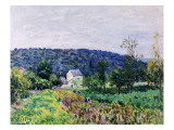 Hills Surrounding Paris, 1879 Giclee Print by Alfred Sisley