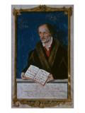 Portrait of Philipp Melanchthon Giclee Print by Lucas Cranach the Younger