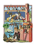History of the Crusades Giclee Print by  Escott