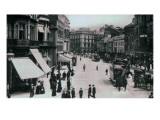 Castle Square, Belfast, C.1902 Giclee Print by  Irish Photographer