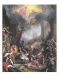 Martyrdom of St. Stephen, 1527 Premium Giclee Print by Ludovico Cardi Cigoli