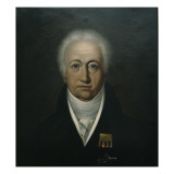 Portrait of Goethe, 1816 Giclee Print by Ferdinand Jagemann