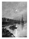 Quay at Hankou, 1893 Giclee Print by Nikolay Karazin