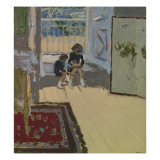 Children in a Room, 1893 Gicl&#233;e-Druck von Edouard Vuillard