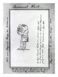 Kant Mixing Mustard, 1801 Premium Giclee Print by Friedrich Hagemann