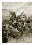 Death of Sir Edward Pakenham Giclee Print by Paul Hardy