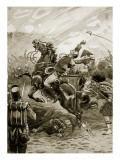 Death of Sir Edward Pakenham Giclee Print by Paul Hardy