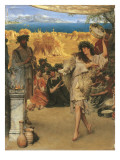 A Harvest Festival, 1880 Premium Giclee Print by Sir Lawrence Alma-Tadema