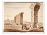 The Aqua Appia, 1833 Giclee Print by Agostino Tofanelli