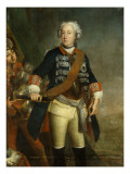 Frederick Ii as King Giclee Print by  Pesne